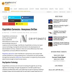 CryptoNote Currency More Anonymous Than Bitcoin?
