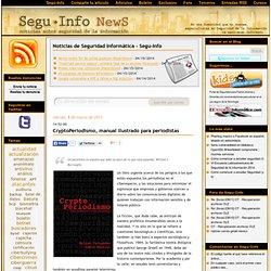 CryptoPeriodismo, manual ilustrado para Periodistas.