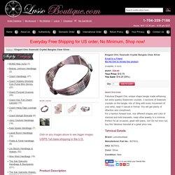 - Swaroski bangle bracelet