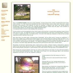 GENESA CRYSTAL at LABYRINTH SPRINGS