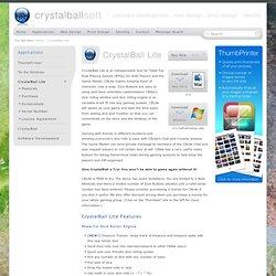 CrystalBall Lite - CrystalBallSoft