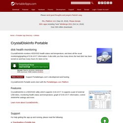 CrystalDiskInfo Portable