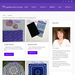 Crochet - Crystals & CrochetCrystals & Crochet
