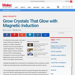 Grow Crystals That Glow with Magnetic Induction