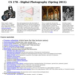 CS 178 - Digital Photography