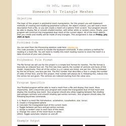 CS 3451 - Homework 5