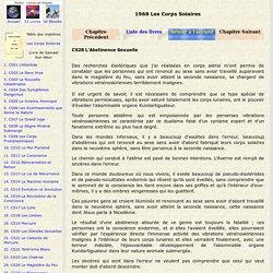 CS28 L'Abstinence Sexuelle