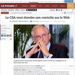 Le CSA veut étendre son contrôle sur le Web