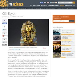 CSI: Egypt
