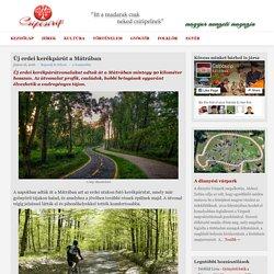 Új erdei kerékpárút a Mátrában - CsipcsiripCsipcsirip