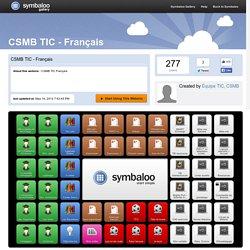 CSMB TIC - Français