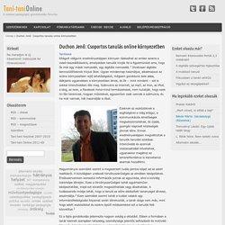 Duchon Jenő: Csoportos tanulás online környezetben