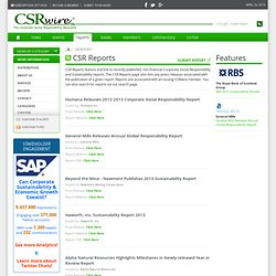 CSR Reports Page 1