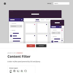 CSS Content Filter