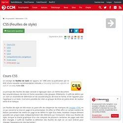 CSS (Feuilles de style)