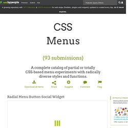 CSS menu, 180 best resources