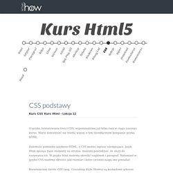 CSS podstawy - Kurs Html5