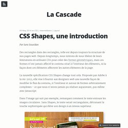 CSS Shapes, une introduction