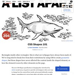 CSS Shapes 101 · An A List Apart Article