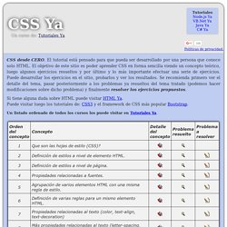CSS Ya