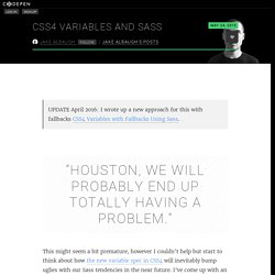 CSS4 Variables and Sass by Jake Albaugh on CodePen