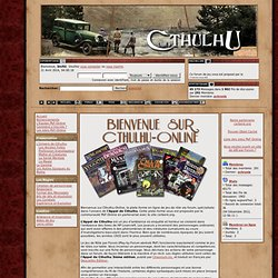 CTHULHU-ONLINE - Play by Forum