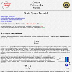 CTM: State Space Tutorial