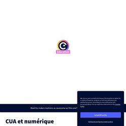 CUA et numérique by RÉCIT AS on Genially