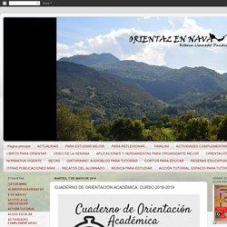 CUADERNO DE ORIENTACIÓN ACADÉMICA. CURSO 2018-2019