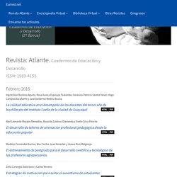 Atlante. Cuadernos de Educación y Desarrollo