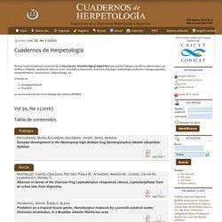 Cuadernos de Herpetología