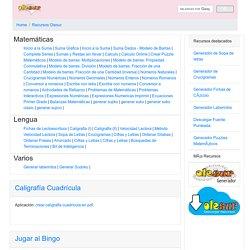 Cuadernos de Matemáticas y Lengua