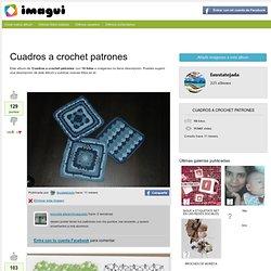 Cuadros a crochet patrones - Imagui