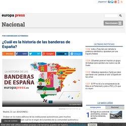 ¿Cuál es la historia de las banderas de España?