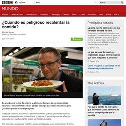BBC ¿Cuándo es peligroso recalentar la comida? #Carne #Pollo #Arroz