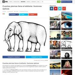 Cuantas piernas tiene el elefante: ilusiones ópticas