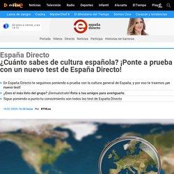 ¿Cuánto sabes de cultura española? Prueba un nuevo test