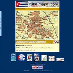 cuba mapa .com - Camaguey city map