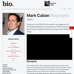 Mark Cuban from begin
