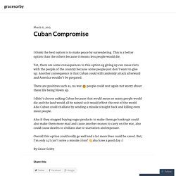 Cuban Compromise