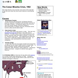Cuban Missiles Crisis 1962