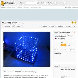 LED Cube 8x8x8 - Download PDF