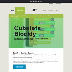 Cubelets Blockly