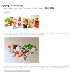 Digitprop – Papercraft and Stuff