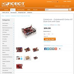 Cubietruck - Cubieboard3 Cortex A7 Dual-Core with Case