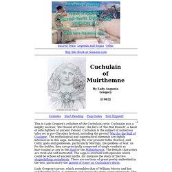 Cuchulain of Muirthemne Index