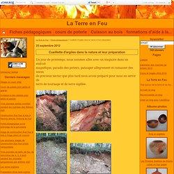 Cueillette d'argiles dans la nature et leur préparation - La Terre en Feu