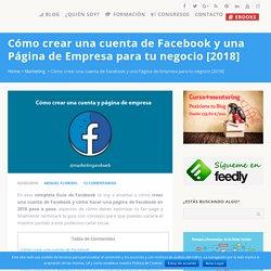 Cómo crear una cuenta de Facebook y una página de empresa [2018]