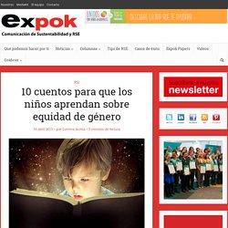 10 cuentos para que los niños aprendan sobre equidad de género