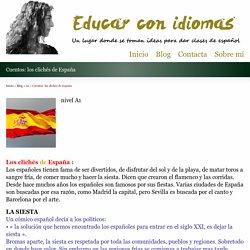 Cuentos: los clichés de España - Educar con idiomas
